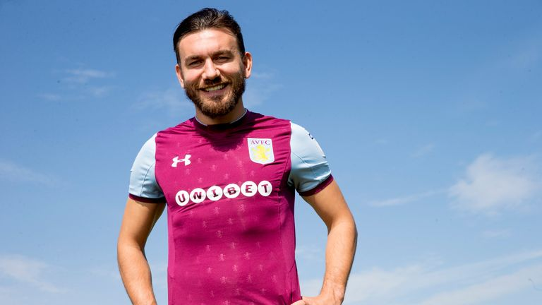 Snodgrass is hoping to help Villa back into the Premier League