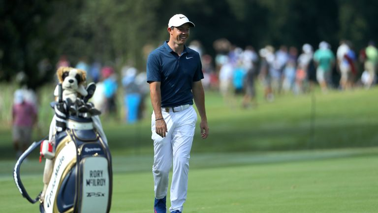 McIlroy fired his best round of the week on the final day at Quail Hollow