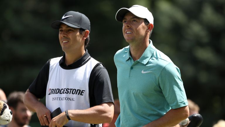 rory mcilroy full of praise for new caddie at firestone