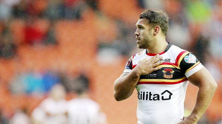Bradford's relegation was confirmed after Sunday's loss to Toulouse