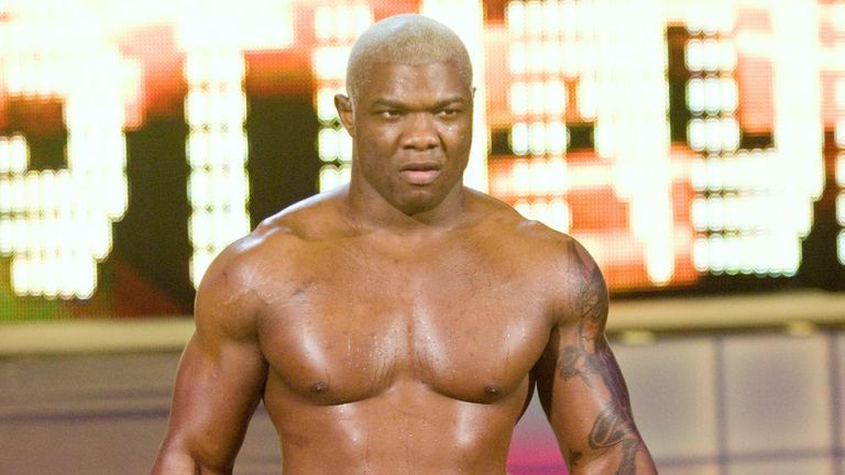 Shelton Benjamin is an established competitor and former United States champion in his own right