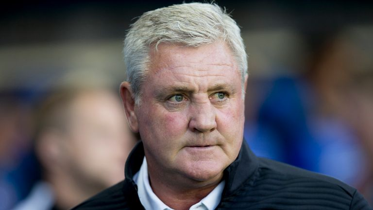 Aston Villa boss Steve Bruce is under pressure after a poor start to the season