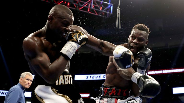 Andrew Tabiti had to settle for a points win over Steve Cunningham