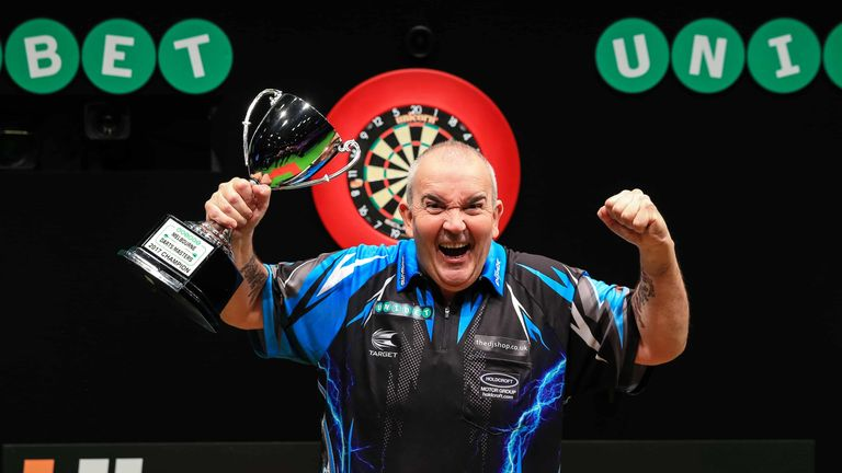 Phil Taylor added another title to his glittering collection at the Melbourne Darts Masters (Tim Murdoch/PDC)