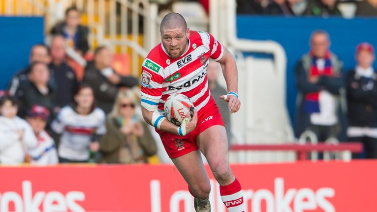 Ben Heaton backed up last weekend's hat-trick with a further two tries