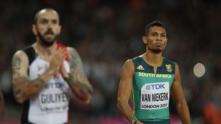 Wayde van Niekerk will be sidelined for an estimated six months