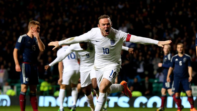 Wayne Rooney is England's most capped outfield player, but has ruled out coming out of international retirement