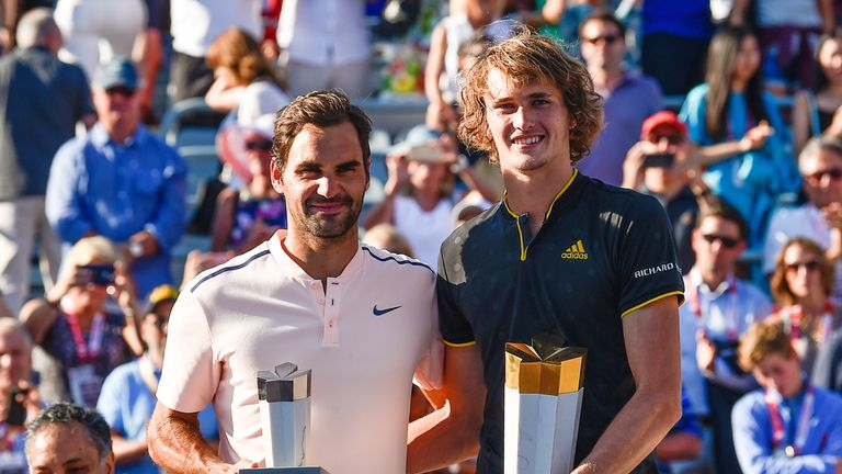 Alexander Zverev is one of only five men to beat Federer this year