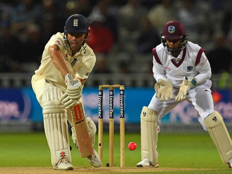 Cook led the way with an unbeaten 153