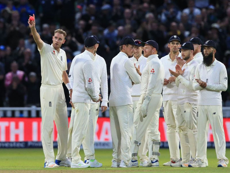 Stuart Broad overtakes Ian Botham as England's second highest Test wicket-taker, after bowling West Indies' Shane Dowrich