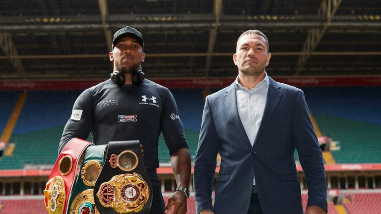 Joshua was set to defend his world titles against Kubrat Pulev
