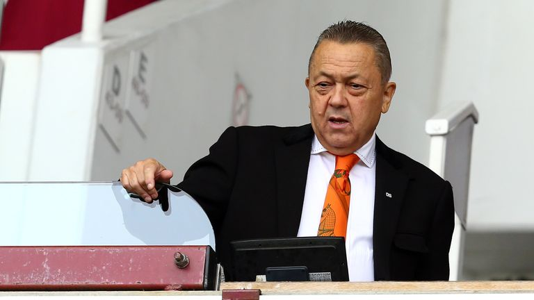West Ham co-chairman David Sullivan