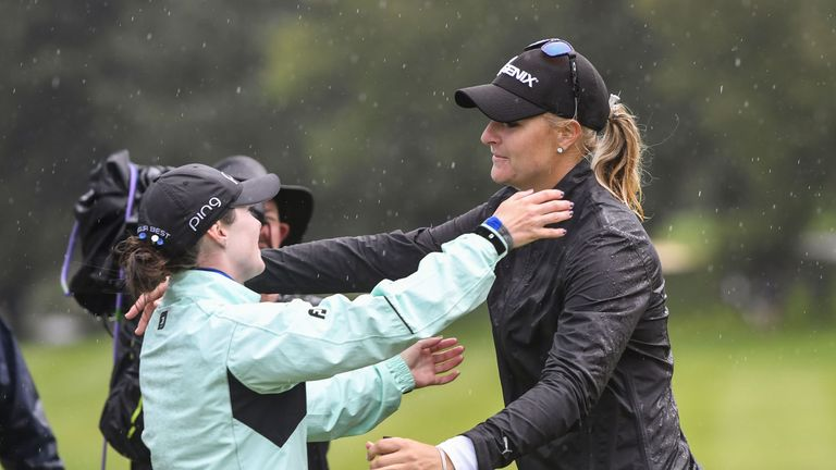 Anna Nordqvist beat Brittany Altomare in a play-off last year