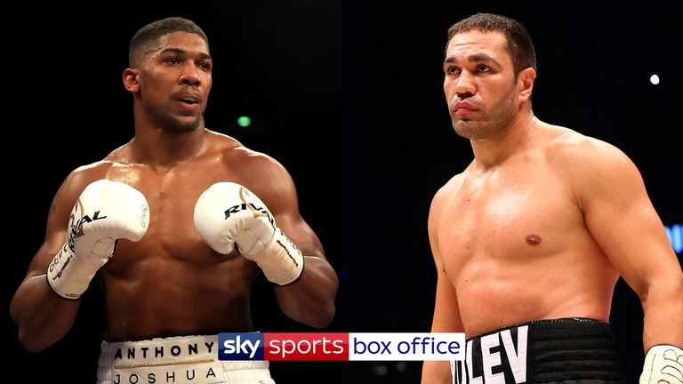 130b204bf Anthony Joshua faces Kubrat Pulev at the Principality Stadium in Cardiff on October  28, live