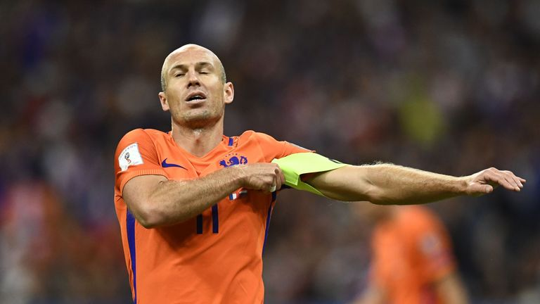 Arjen Robben has retired from international football after 14 years with the Netherlands