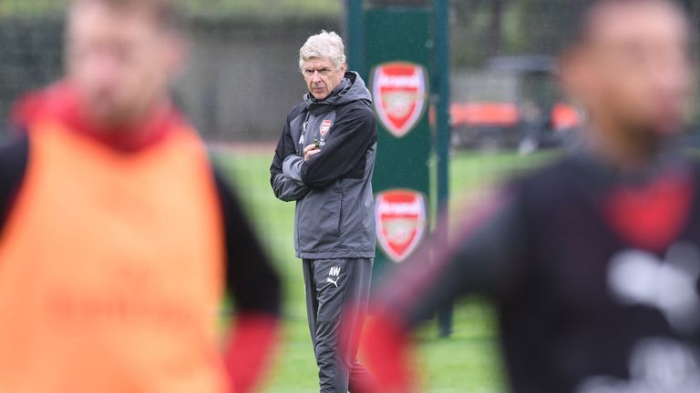 Arsene Wenger has not made any positive progress since signing a new deal