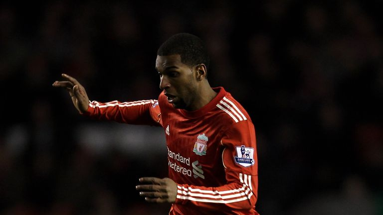 Babel played for Liverpool between 2007 and 2011.