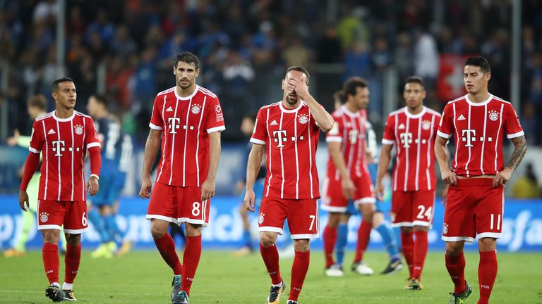 Bayern have made an unconvincing start to the season
