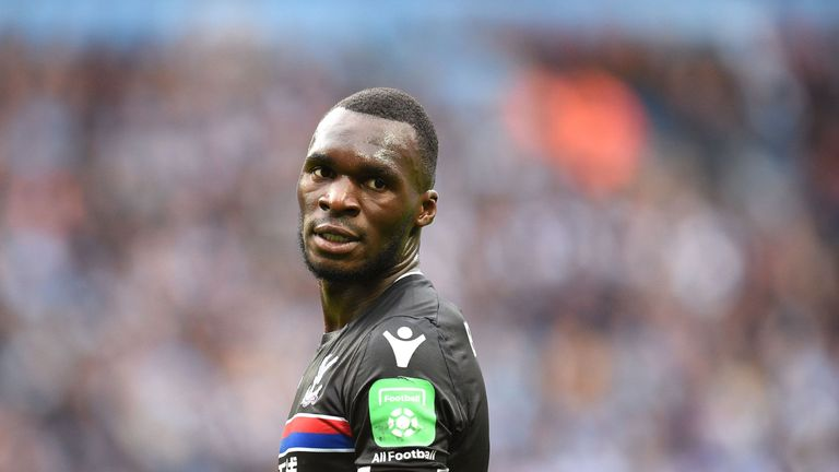 Christian Benteke is back in training for Crystal Palace