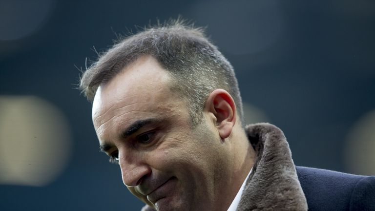 Carlos Carvalhal believes his Swansea side has shown great character since he arrived at the club