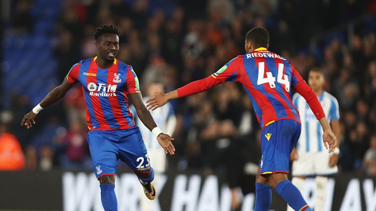 Crystal Palace progressed to the fourth round of the Carabao Cup with a 1-0 win over Huddersfield