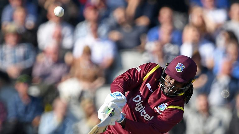 Gayle scored 37 from 27 balls in the first ODI at Old Trafford
