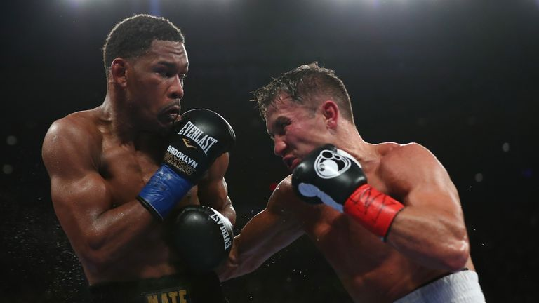 Jacobs emerged with credit from his points loss to Gennady Golovkin
