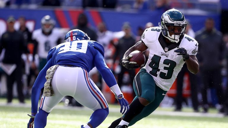 This year will be Sproles' sixth with the Philadelphia Eagles