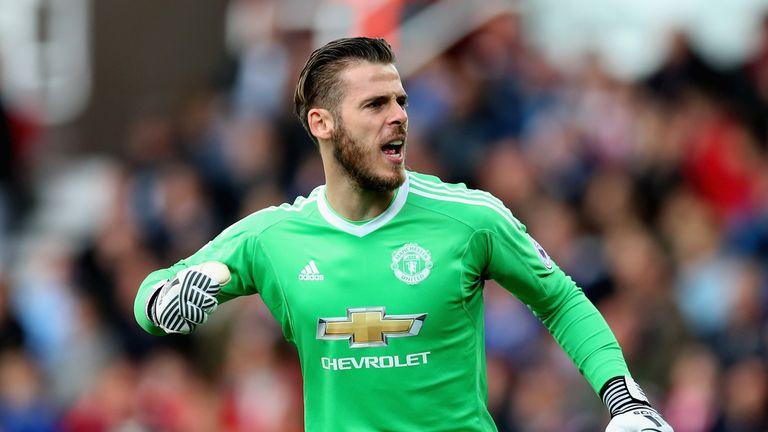 David De Gea has only conceded in one league game this season.