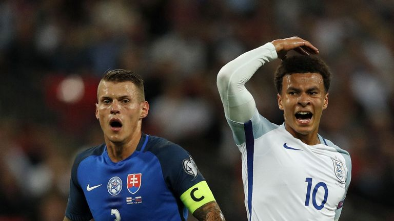 Dele Alli has been ruled out of the England squad due to injury