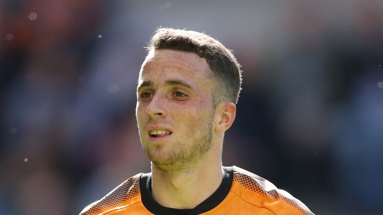 Jota has 11 goals and five assists in the Championship this campaign