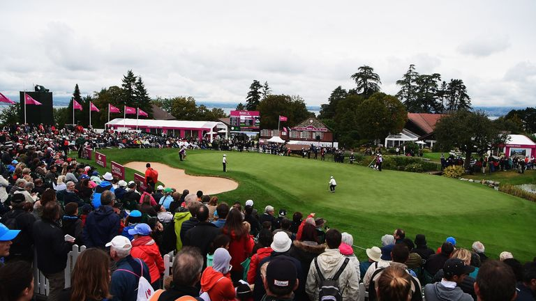 The Evian Championship will be played in July from next year