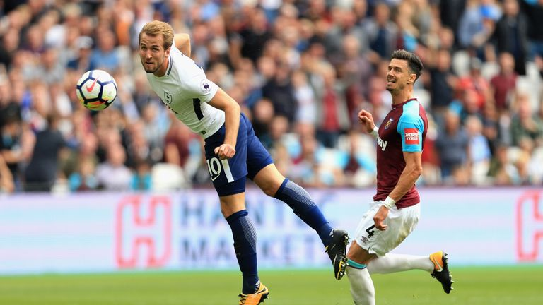 Harry Kane and Spurs have struggled at Wembley this season