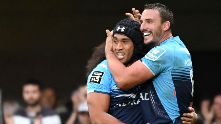 Tomane scored 16 tries in 44 appearances for Montpellier