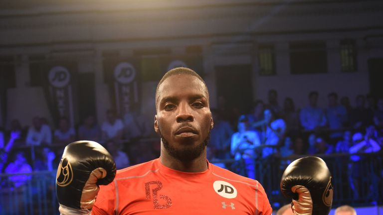 Okolie is targeting titles in the professional ranks