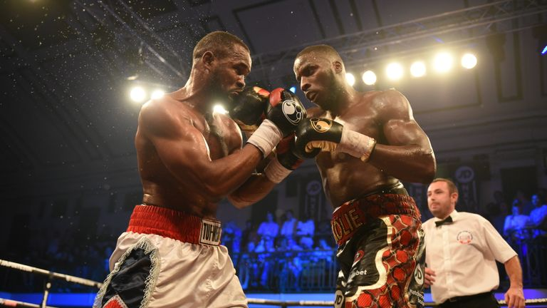 Lawrence Okolie outpointed Blaise Mendouo at York Hall