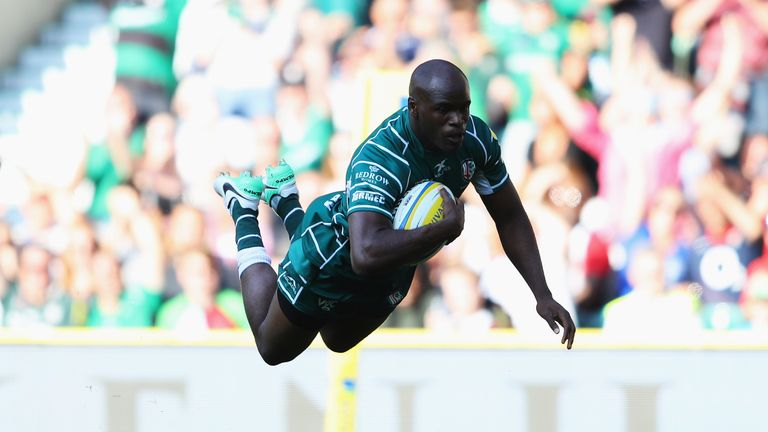 Topsy Ojo was one of the try scorers as London Irish recorded a bonus-point victory over Harlequins