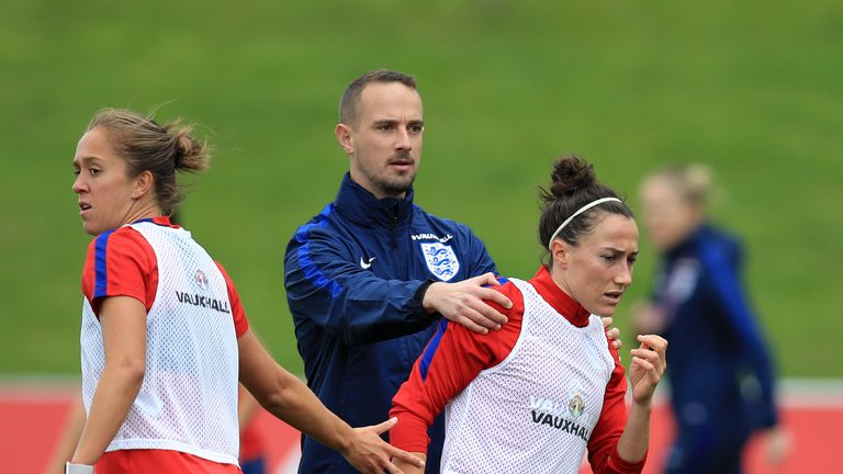 Bronze played down the incident after the session at St George's Park