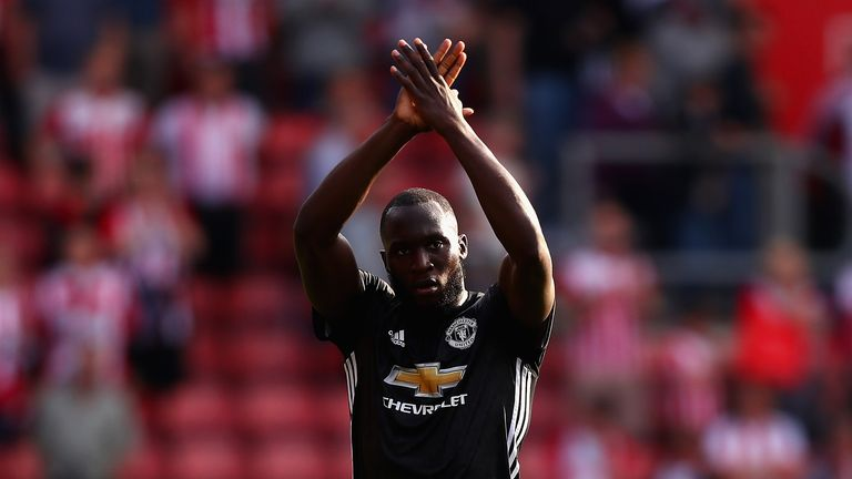 Romelu Lukaku had asked supporters to move on from a controversial song about him ahead of facing Southampton