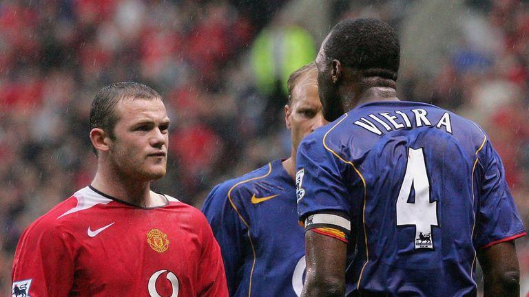 Rooney helped end Arsenal's unbeaten run back in 2005