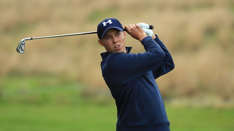 Matthew Fitzpatrick begins the defence of his DP World Tour Championship on Thursday