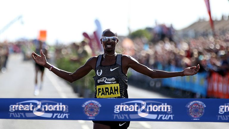 Mo Farah has big marathon successes on his mind after a glittering track career