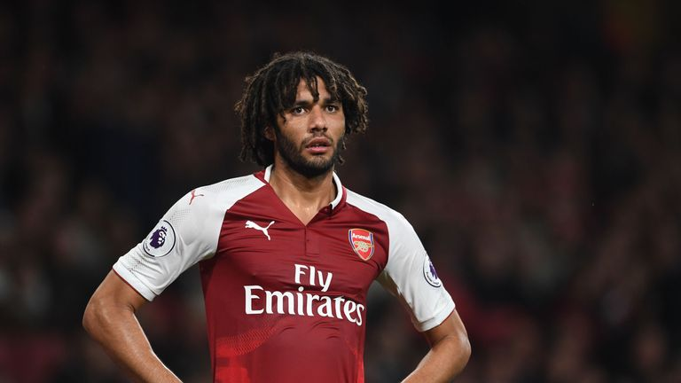 Mohamed Elneny has 18 months remaining on his Arsenal contract