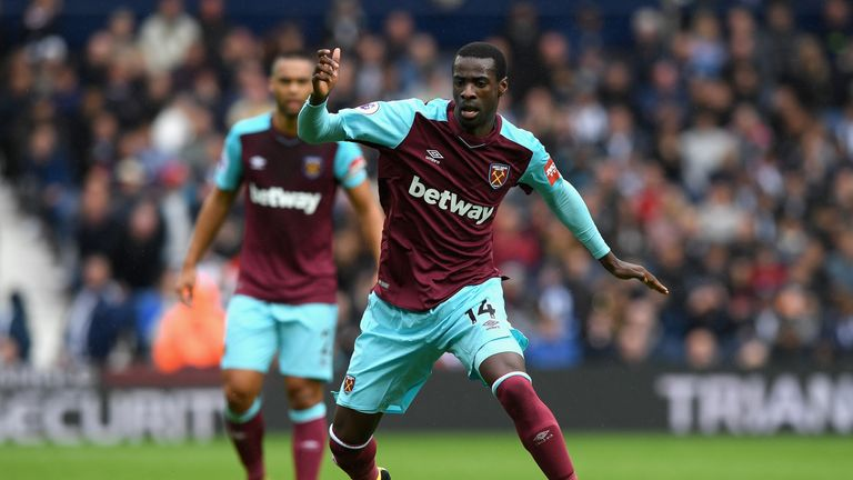 Pedro Obiang is expected to miss the rest of the season