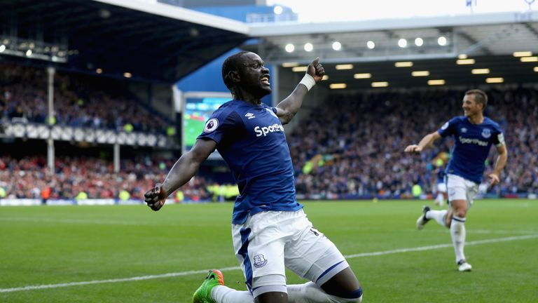 Oumar Niasse has worked his way into the first team at Everton