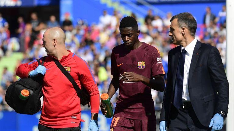 Ousmane Dembele has not been in Ernesto Valverde's plans