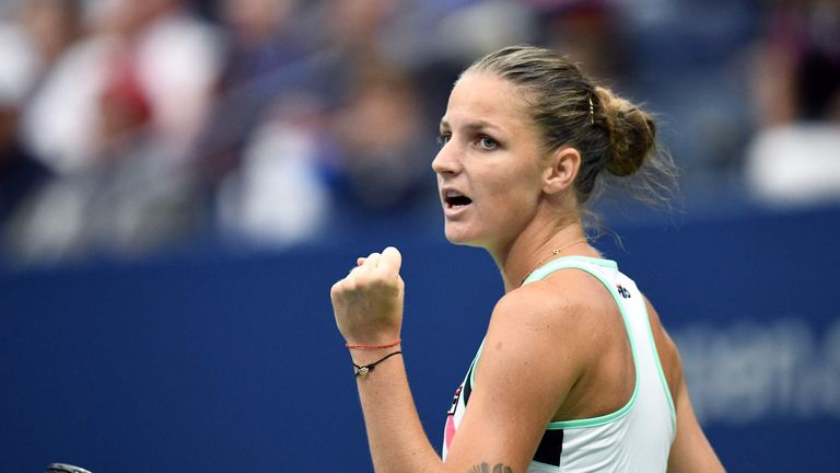 Pliskova will lose her world No 1 ranking at the end of the tournament