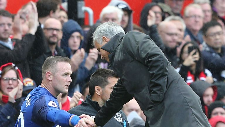 It was an unhappy return to Old Trafford for Wayne Rooney on Sunday