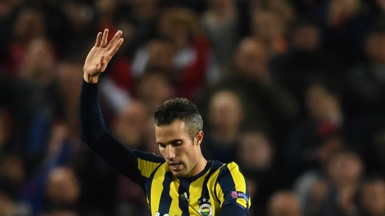 Turkish club Fenerbahce agreed to release Van Persie from his contract