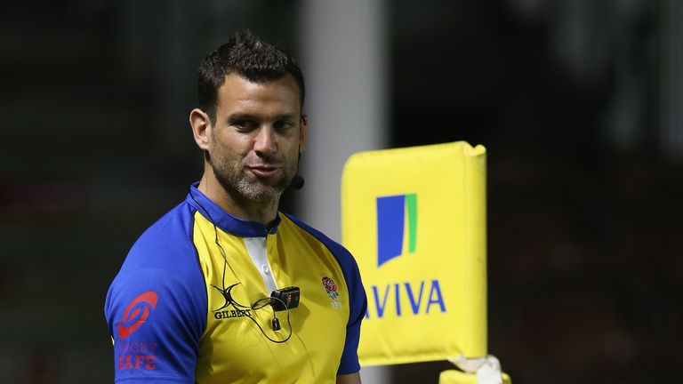 Former Harlequins scrum-half Karl Dickson has become a referee